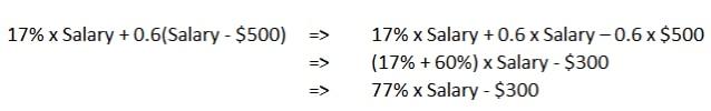 cpf formula re-arranged