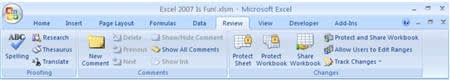 screenshot review ribbon